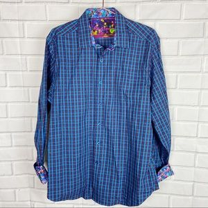 Robert Graham Collectible button down shirt L